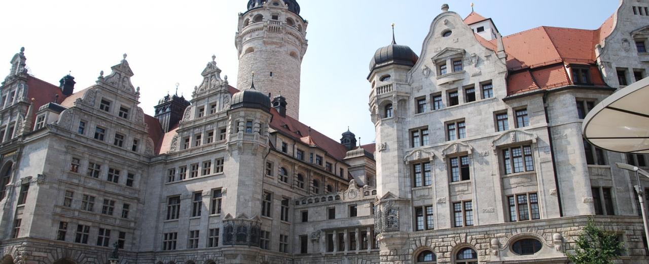 Neues Rathaus - Stadthaus (Foto @ Stadt Leipzig)